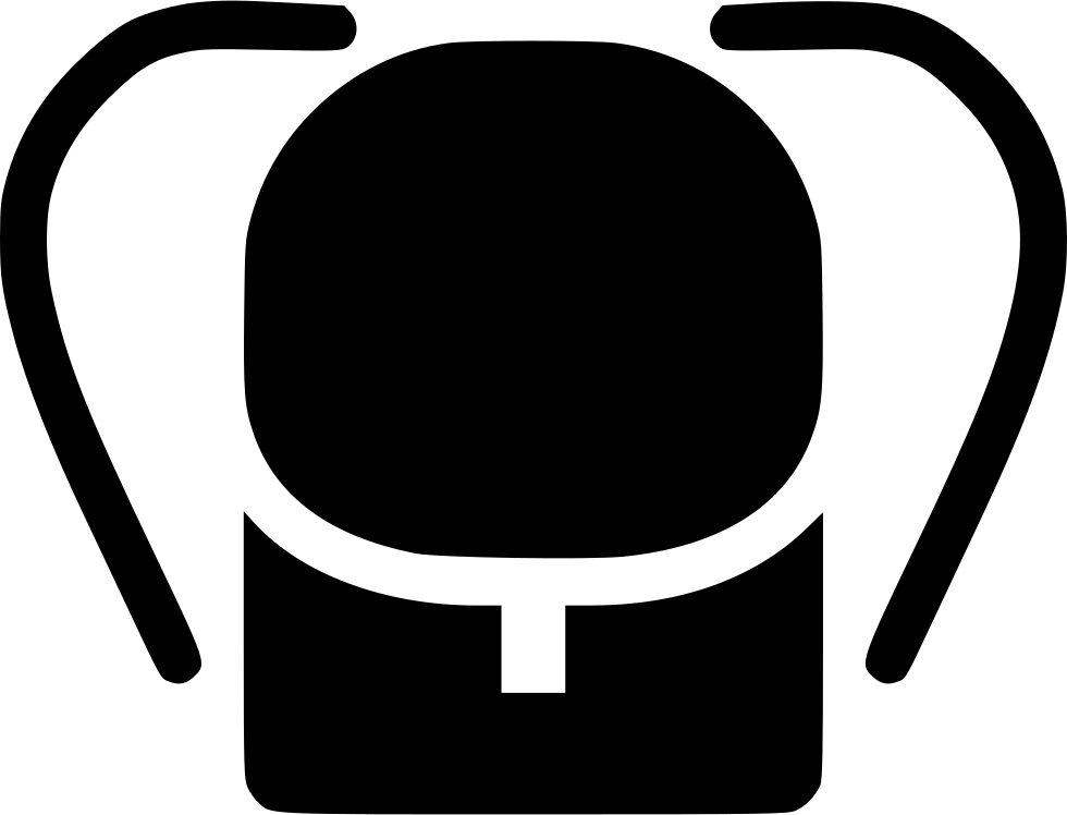 Backpack Symbol Simple