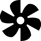 Fan Blade Clip Art : Fan svg png icon free download onlinewebfonts