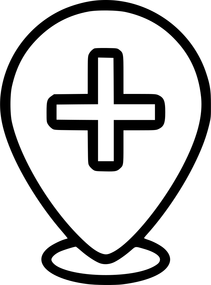 Hospital Cross Pin Mark