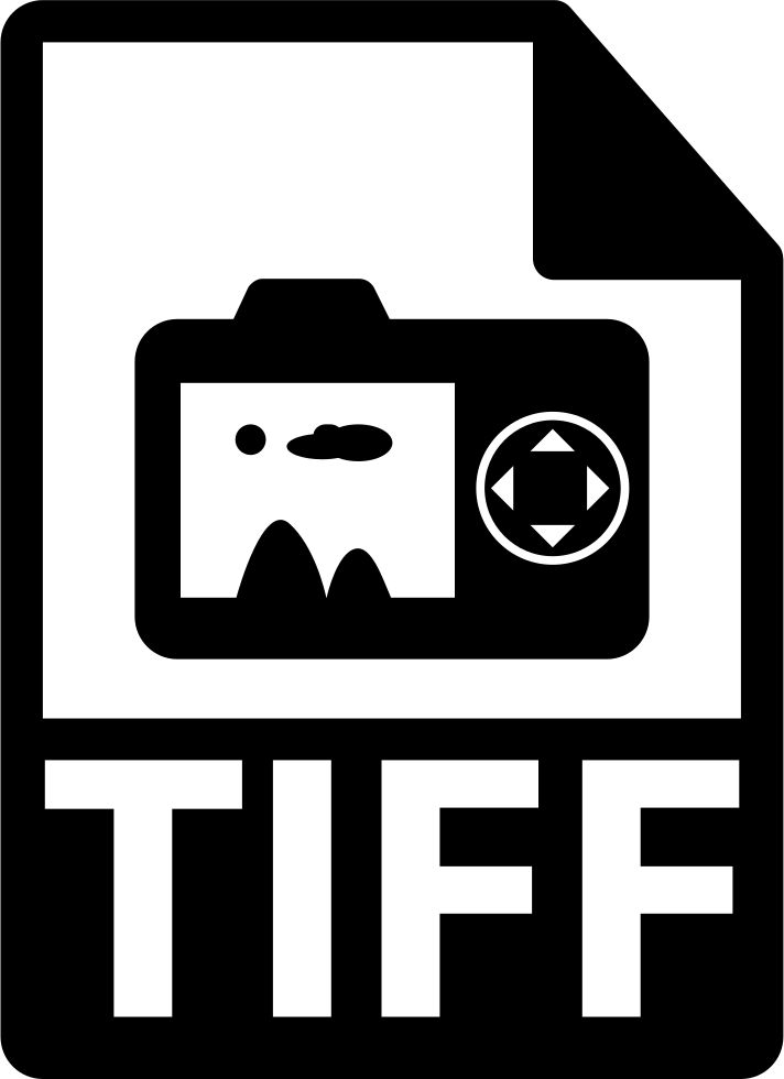 Tiff Images File Extension Symbol For Interface
