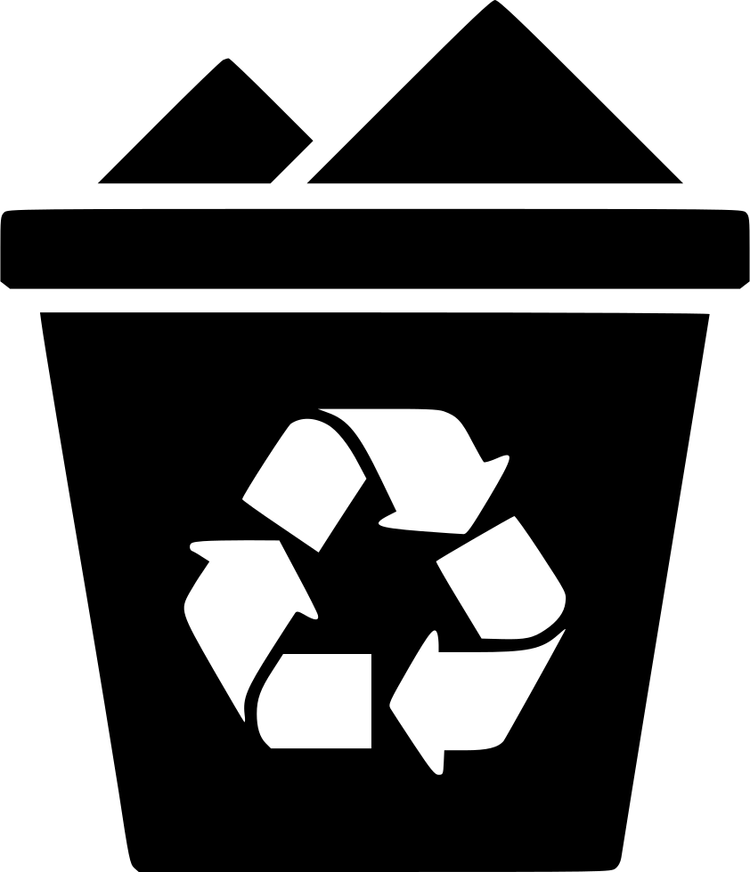 full recycle bin svg png icon free download 493037