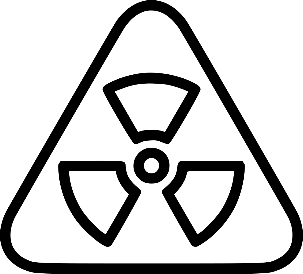 Radiation Toxic Hazard Biohazard Warning
