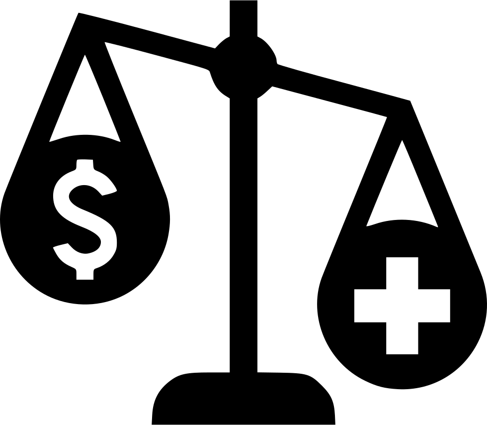 Balance Scales Health Care Money Important