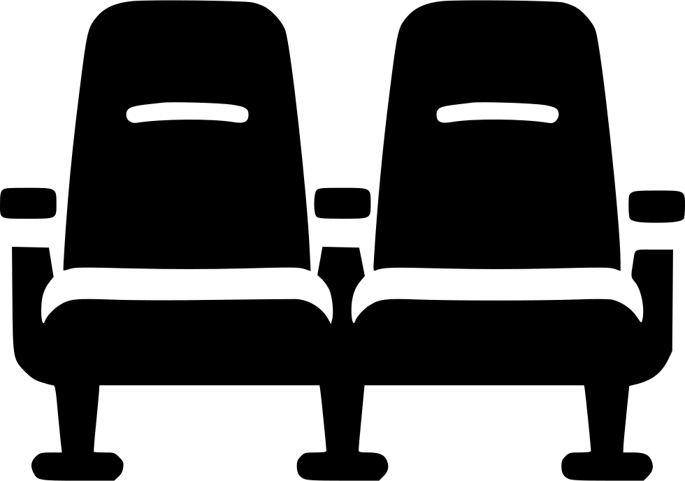 Chair Cinema Theater Seat Svg Png Icon Free Download