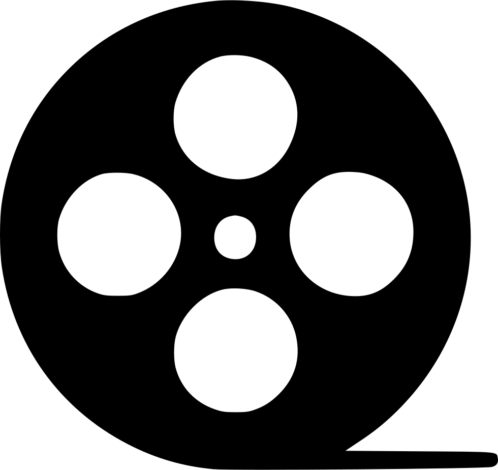 Movie Reel Svg Png Icon Free Download (#494812 ...