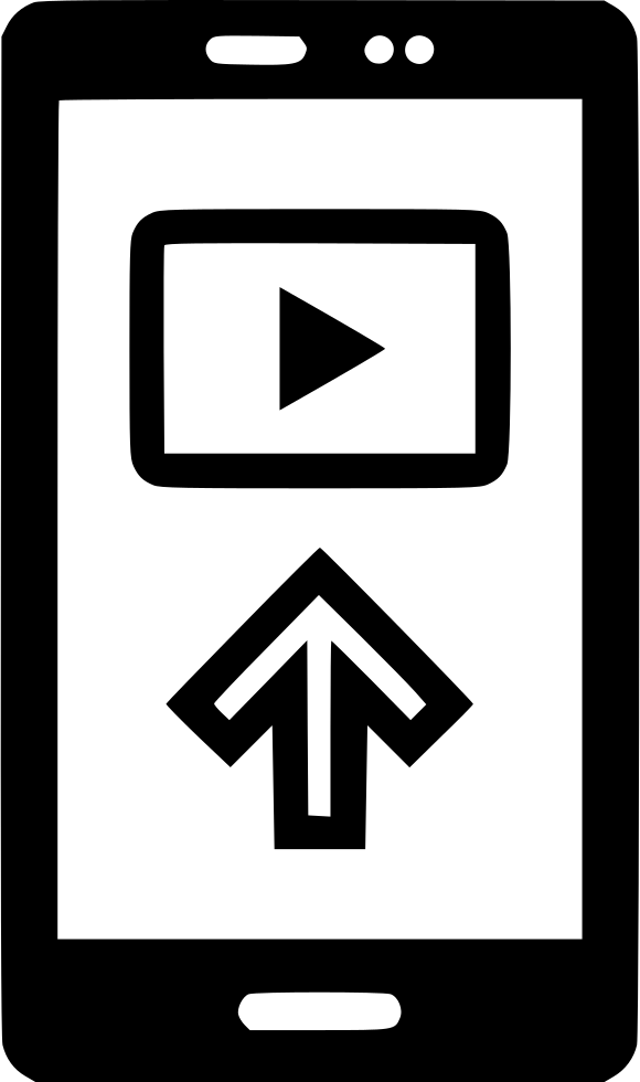 Cell Phone Arrow Up Youtuber Youtube