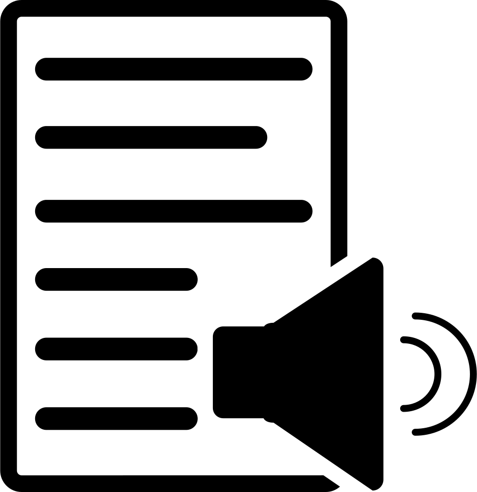 Document With Speaker