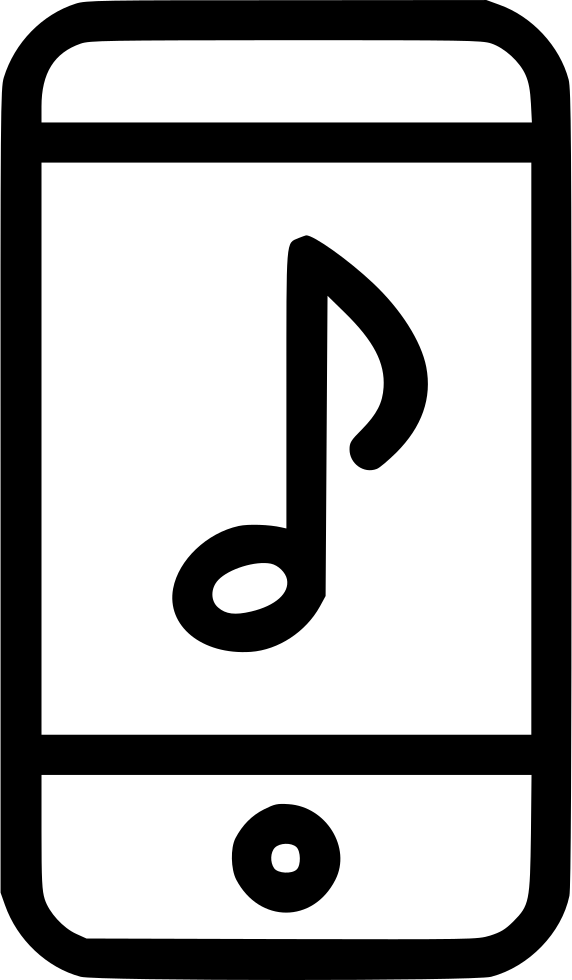 Music Note Playing Ipod