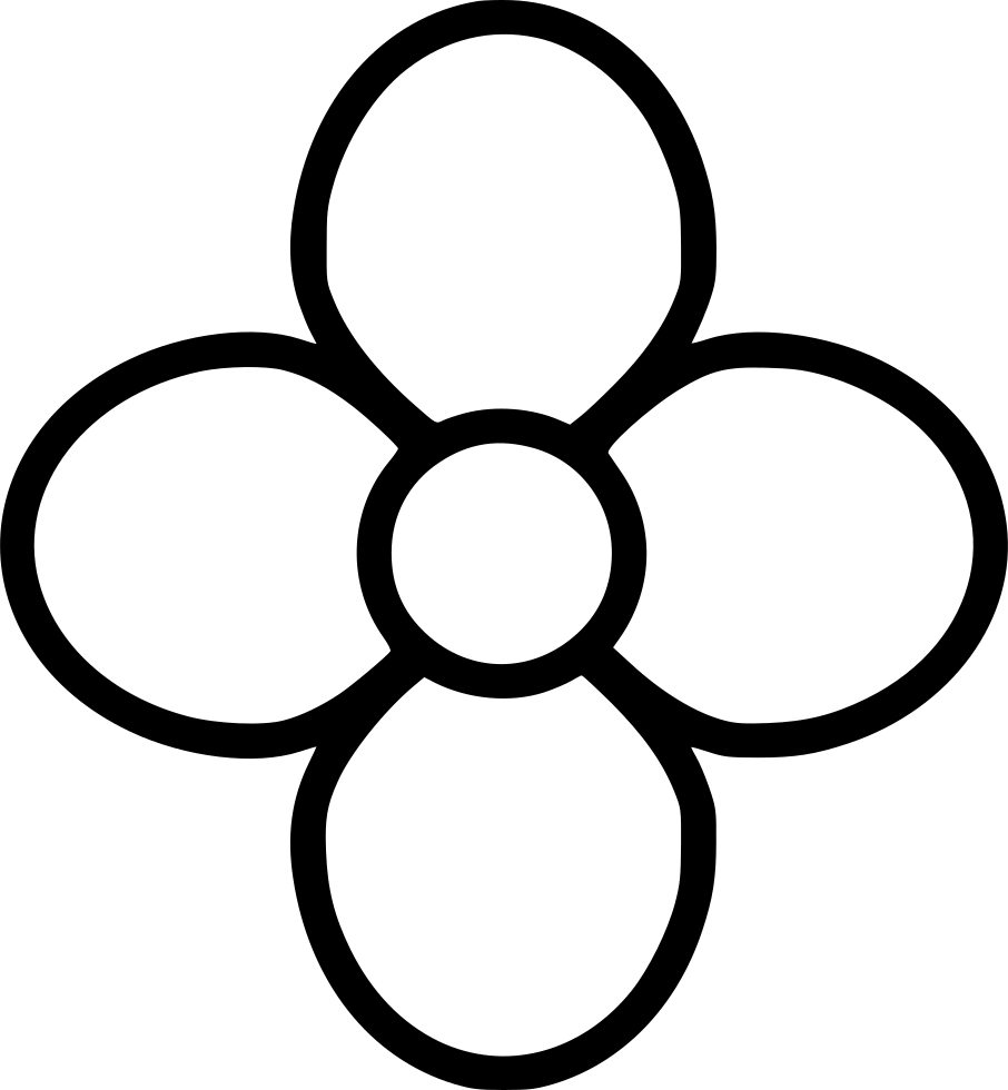 Rounded Flower