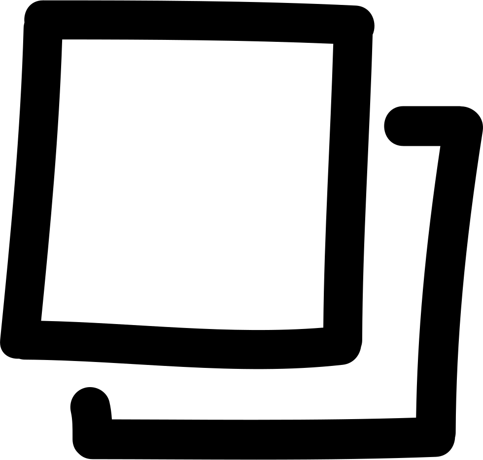 Gallery Hand Drawn Interface Symbol Of Irregular Squares Outlines