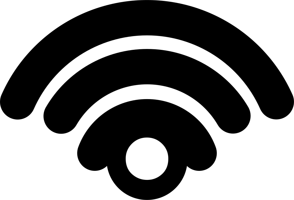 Internet Phone Connection Interface Symbol