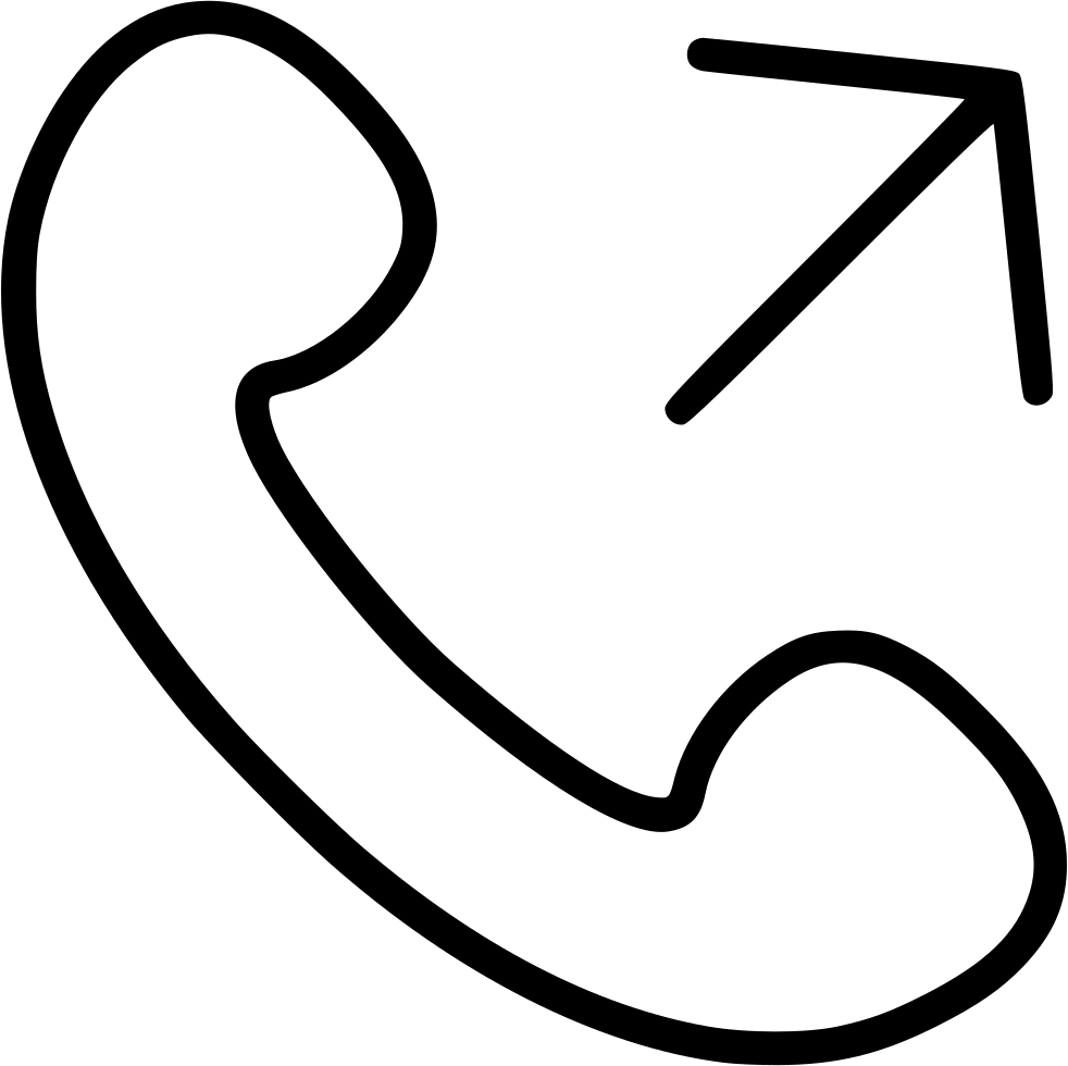 Outgoing Call Svg Png Icon Free Download (#500658 ...