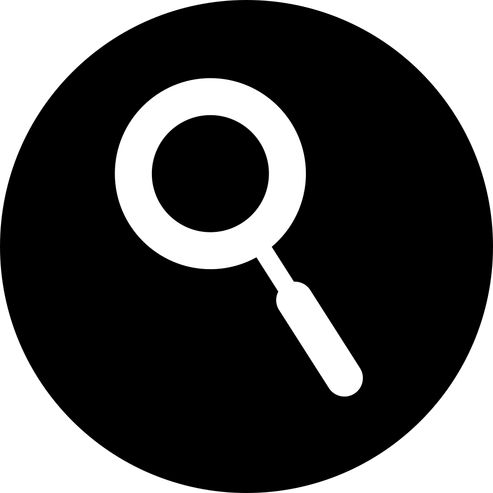 Search Interface Circular Symbol