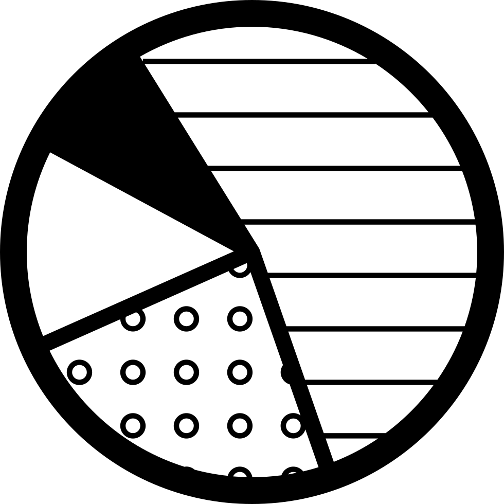 Pie Graphic With Four Areas