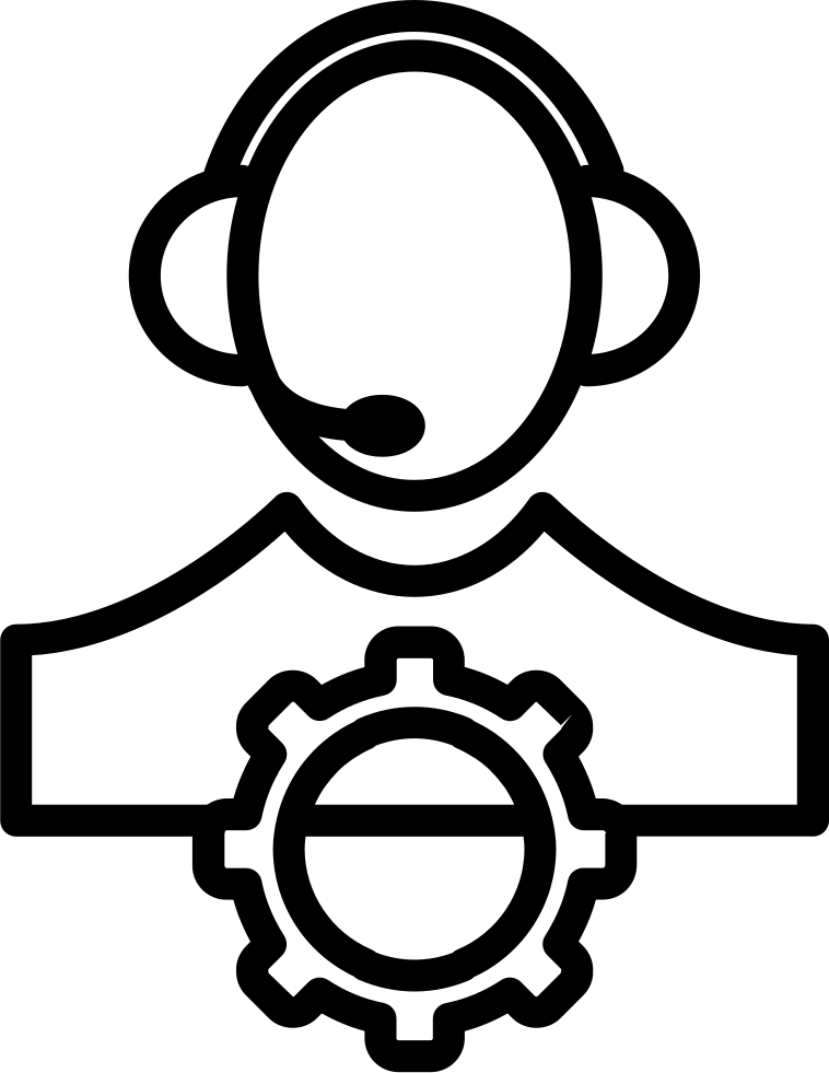 Person Or Personal Setting Outline Symbol In A Circle