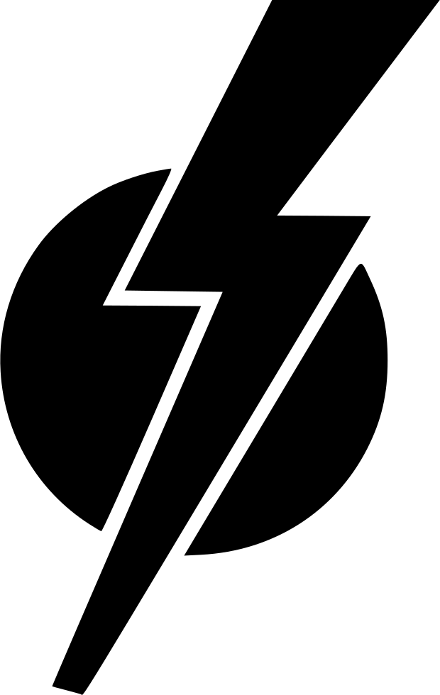 Round Shock Electric Hero Sign