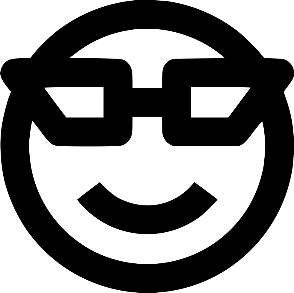 Glasses Smile