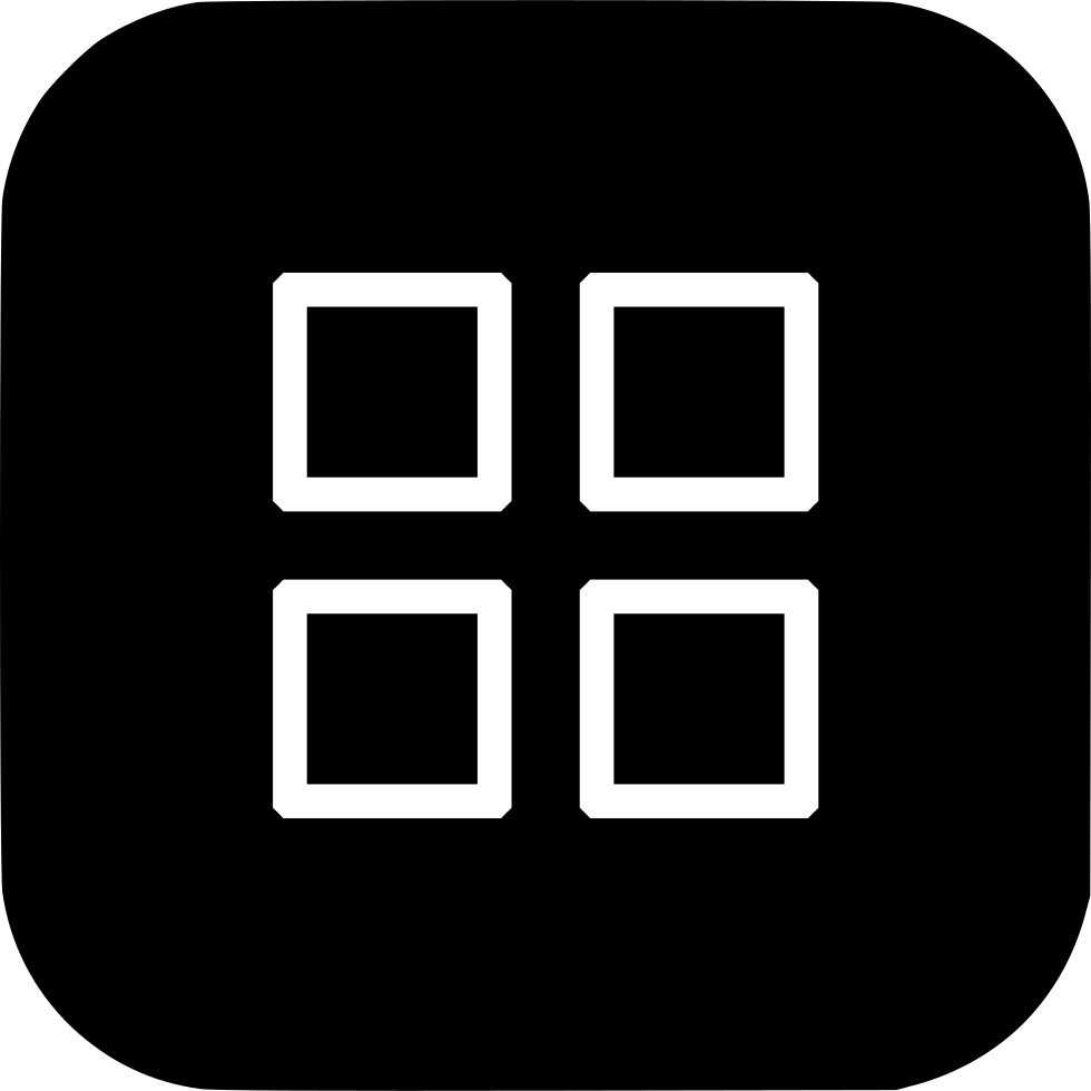 Android Menu Grid App View Application Outline
