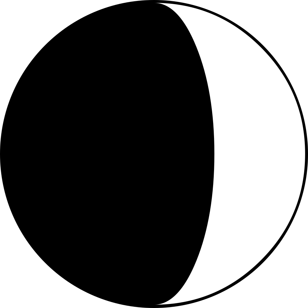 Moon Phase Interface Symbol