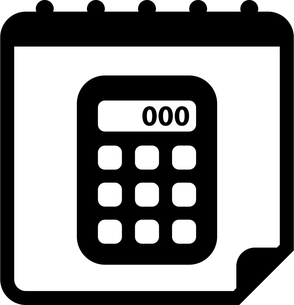 Calculator On Calendar Page