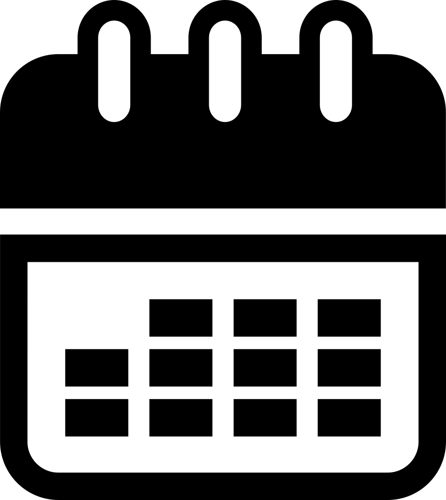 Calendar Tool Interface Symbol For Time Administration And Organization