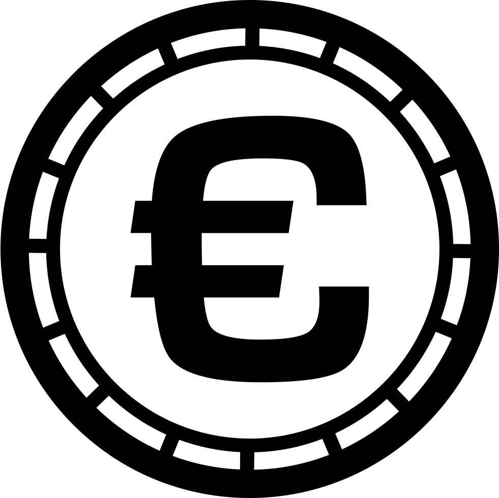 Euro Money Coin Symbol