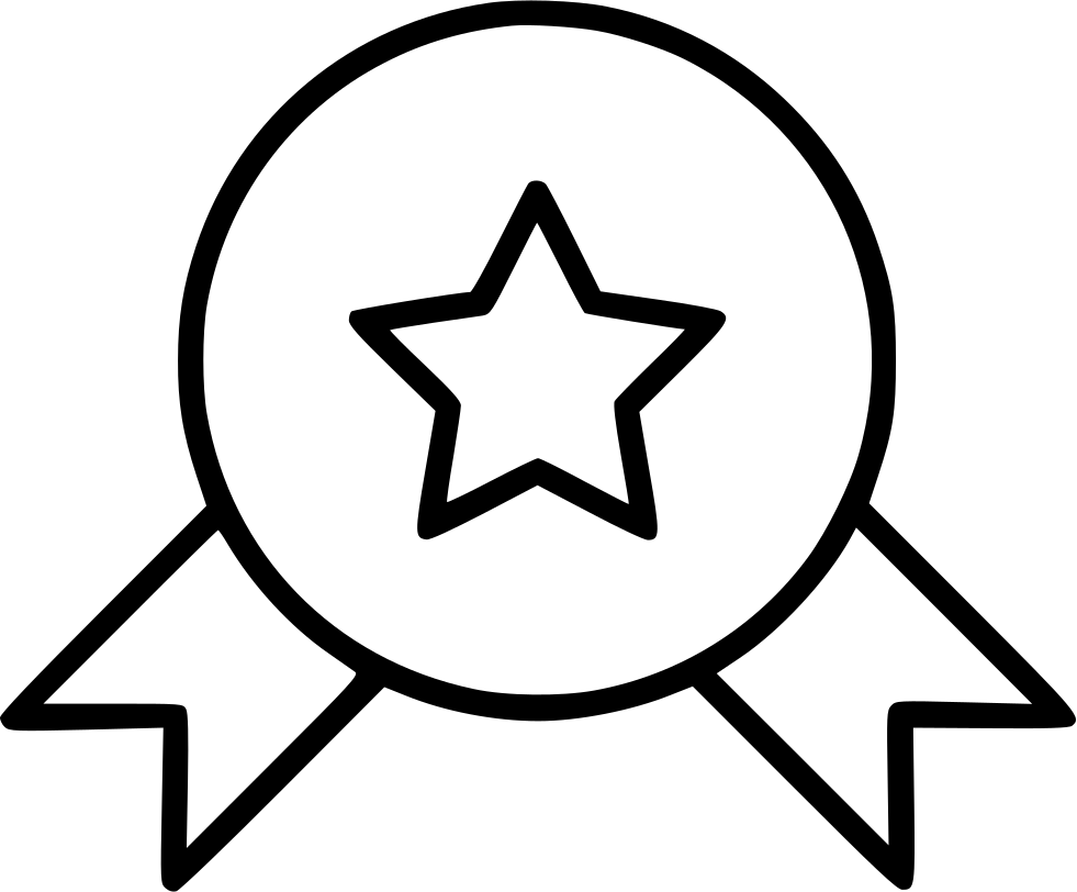 Achievement Cockade Medal Reward Rosette Star