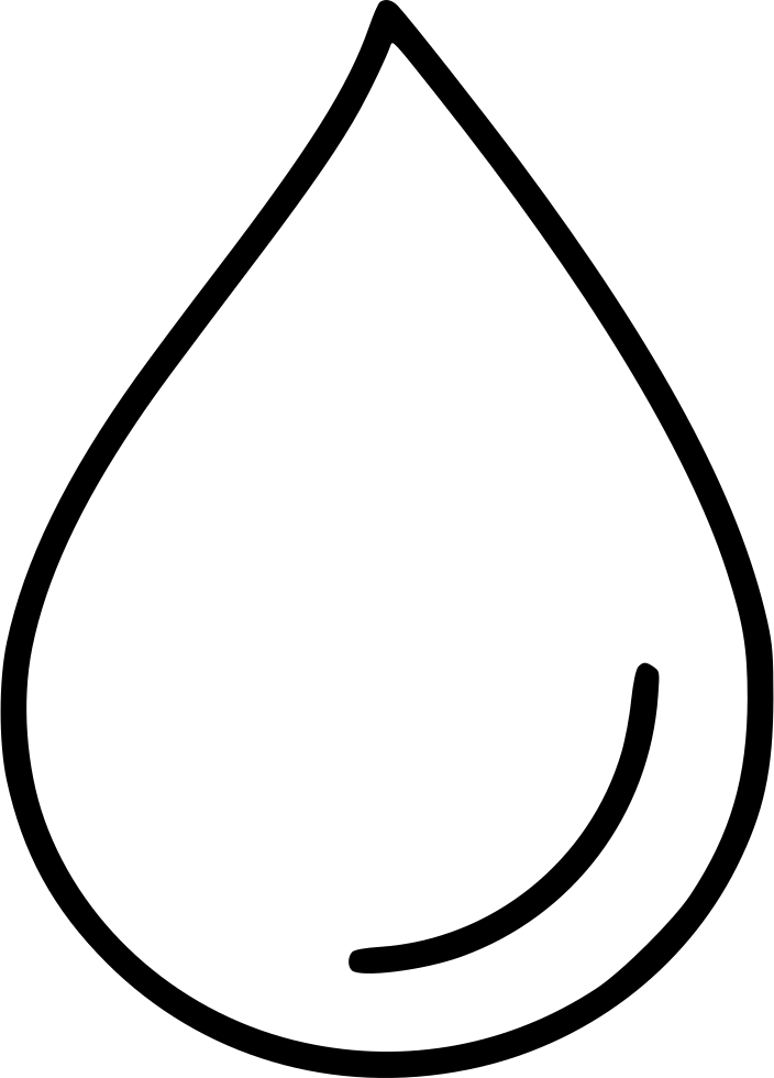 drop droplet rain tear water svg png icon free download