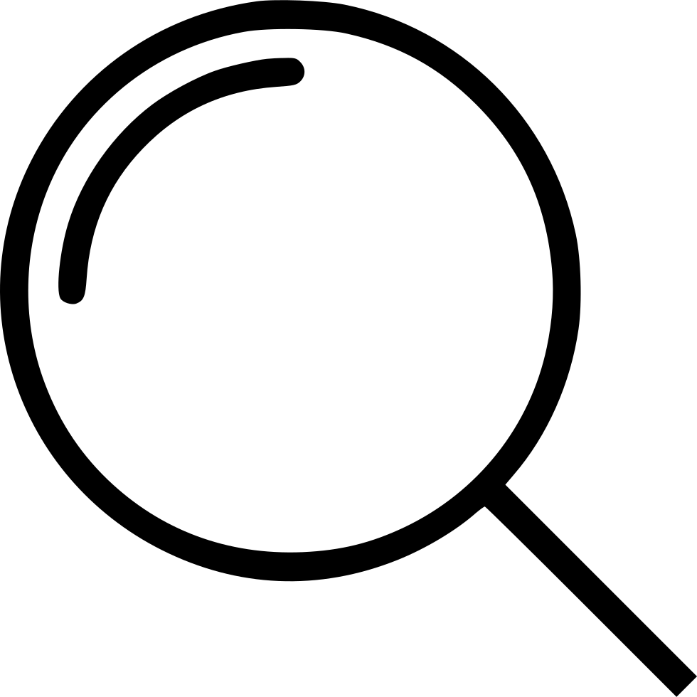 Search Magnifying Glass Symbol
