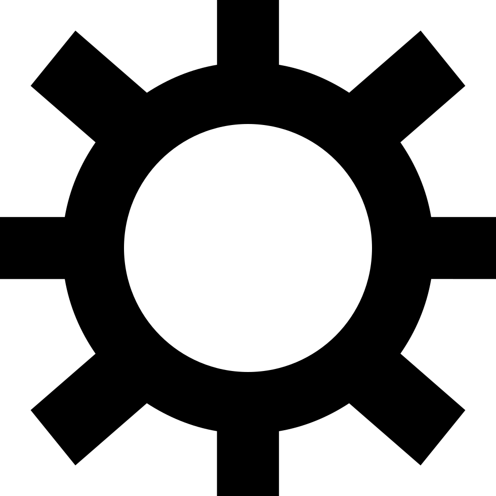 Wheel Of Configuration Symbol