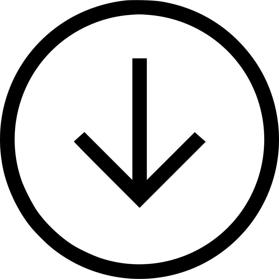 Arrow Down Circle