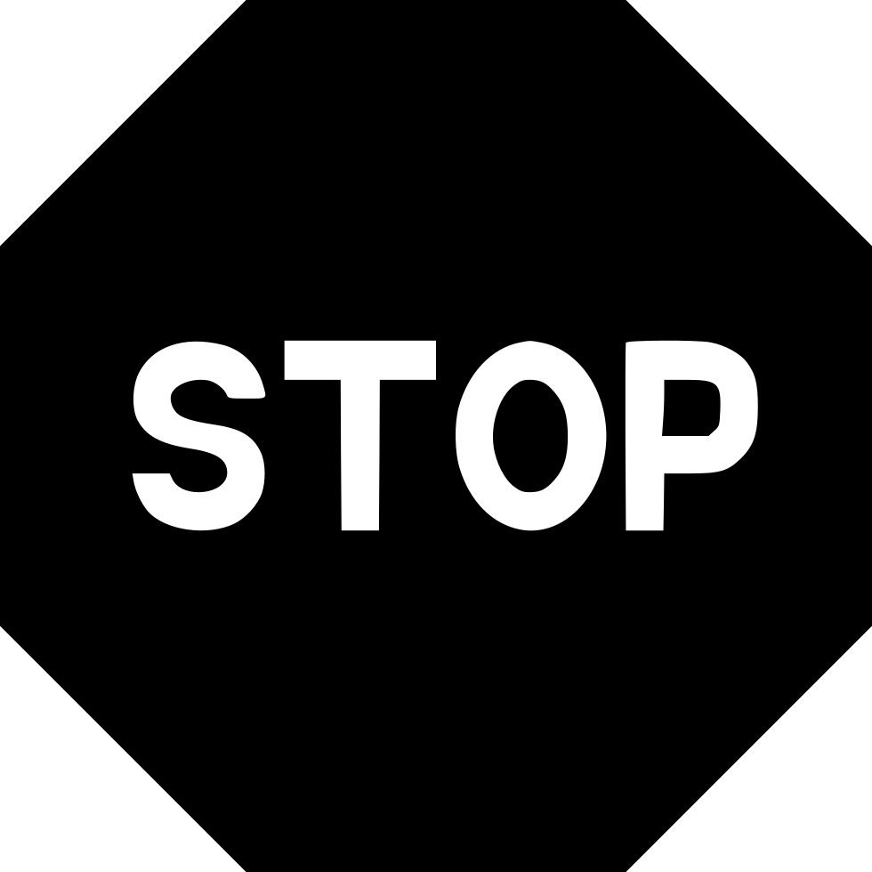 Stop Sign Play Pause