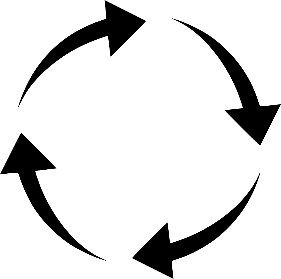 Round Motion Rotate Arrows Circle