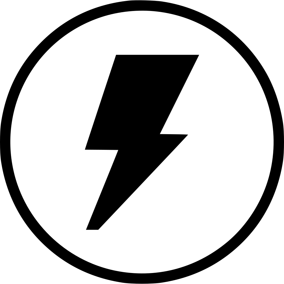 Shock Electric Electricity Error Notice Round