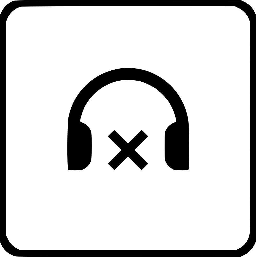 Headphones Cancel Device Sound Volume Player Function Ui