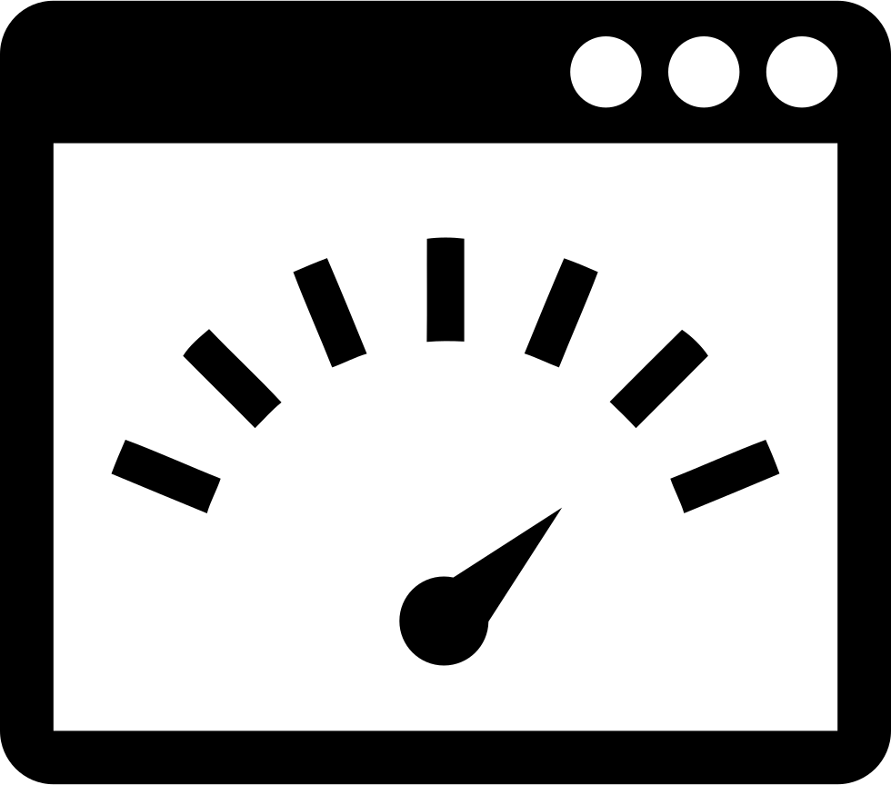 Page Speed Interface Symbol