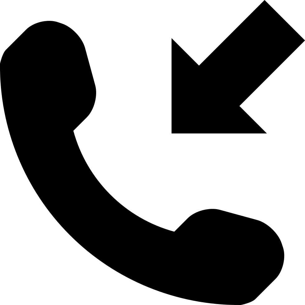 Incoming Phone Call Symbol