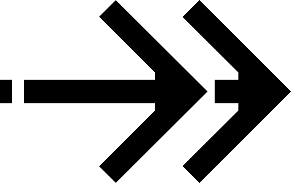 Arrow Right Direction Next East Forward