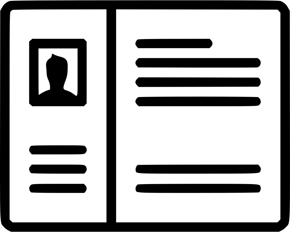 Wireframe Grid Account Profile Blog