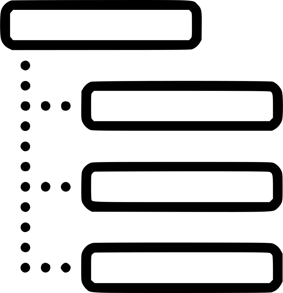 Wireframe Grid Sitemap Structure List Thread