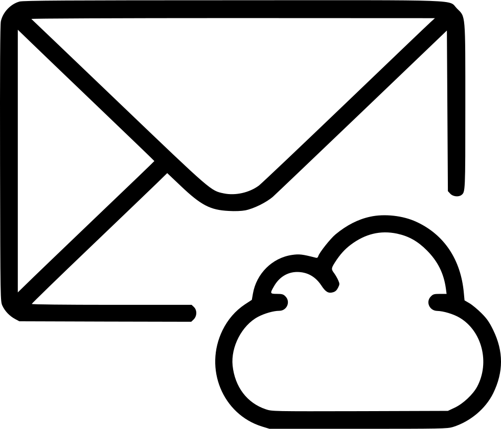 Cloud Mail Email Envelope Message