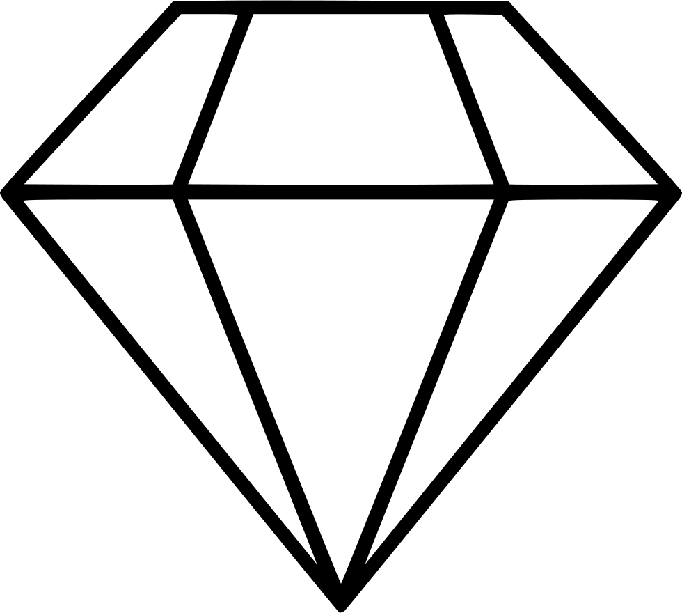 diamond svg png icon free download 524344