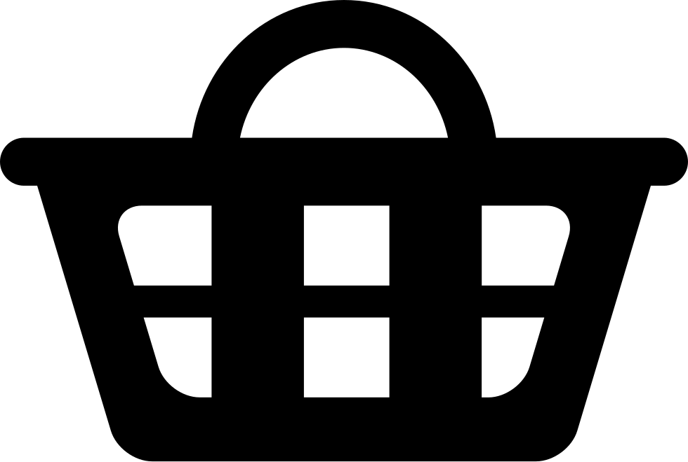 Shopping Basket Interface Commercial Symbol