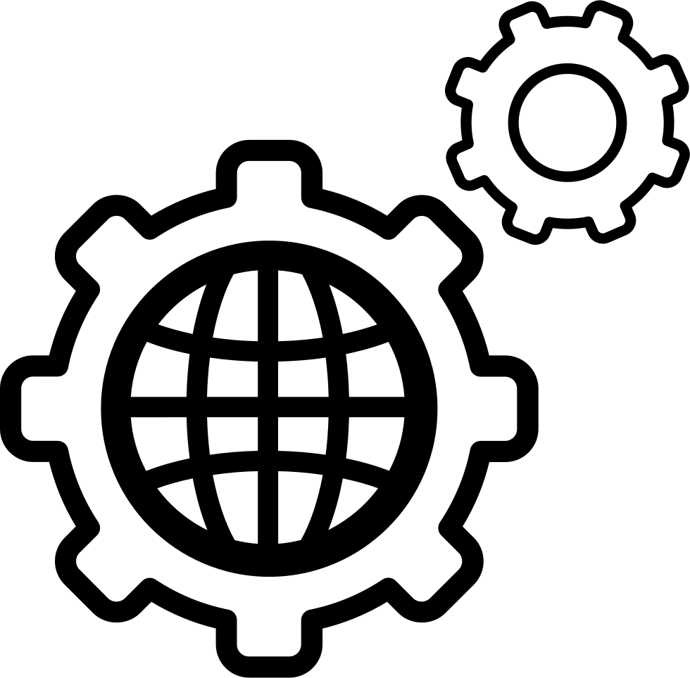World Settings Circular Symbol