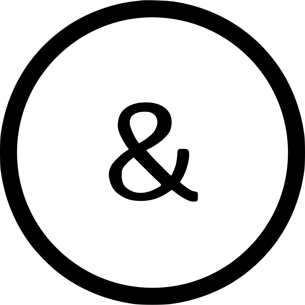 Ampersand Lowcase Letter Virtual