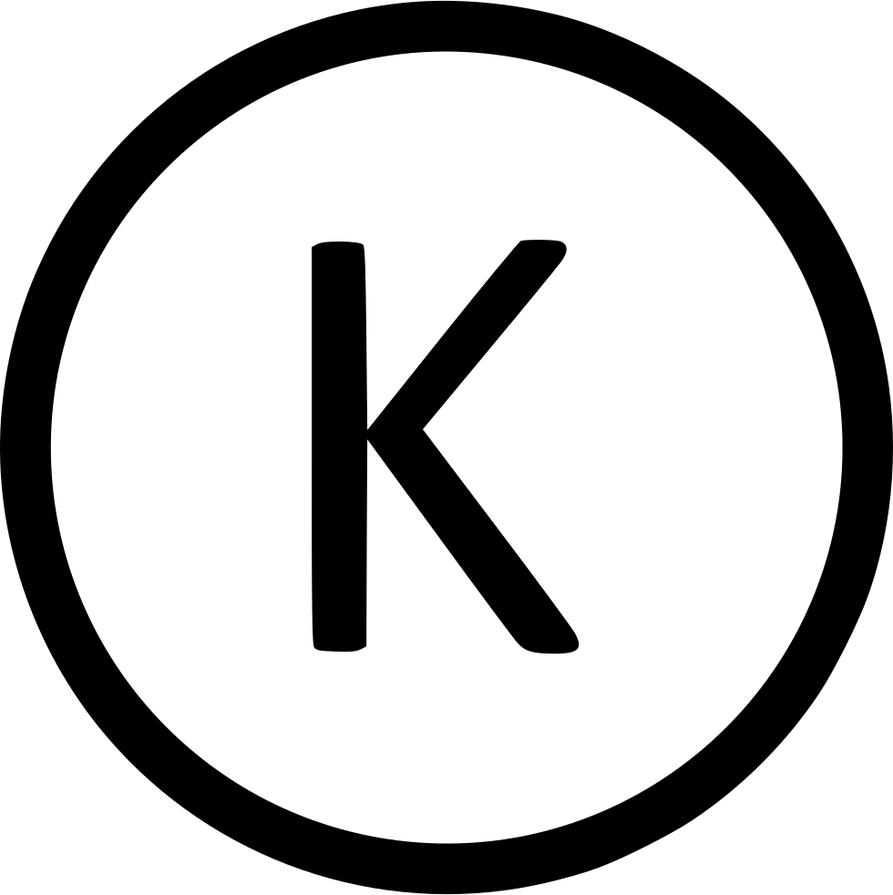 Letter K Uppercase Virtual Svg Png Icon Free Download