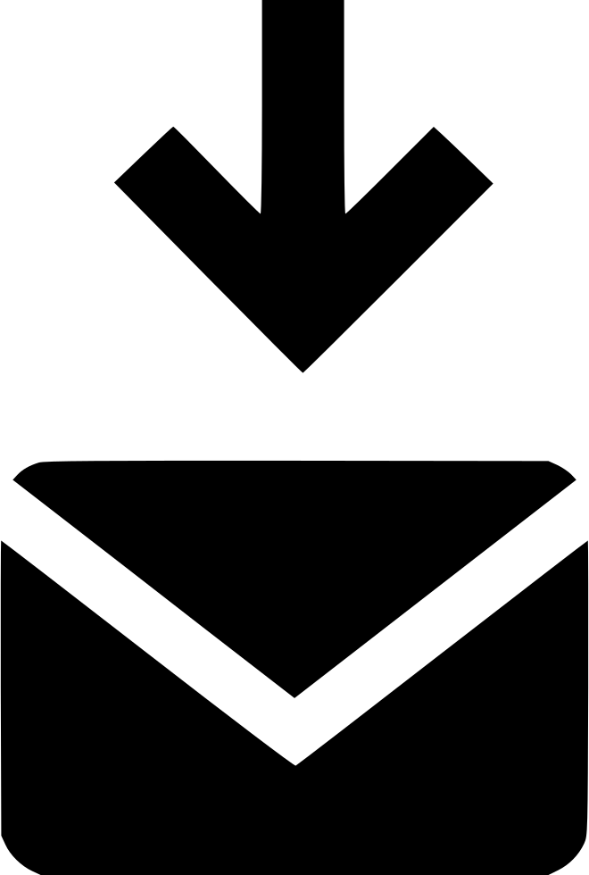 Down Arrow Email Mail Envelope Electronic