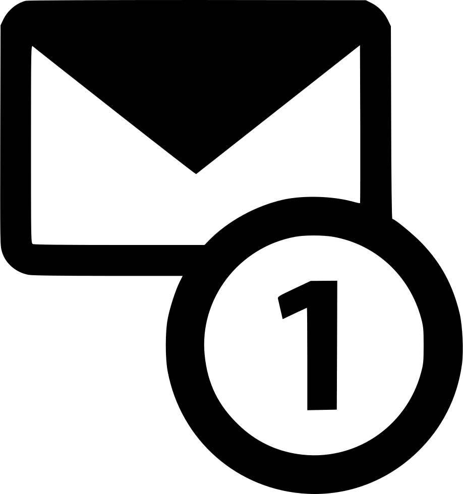 Email One Message Envelope Communication Communicate Inbox