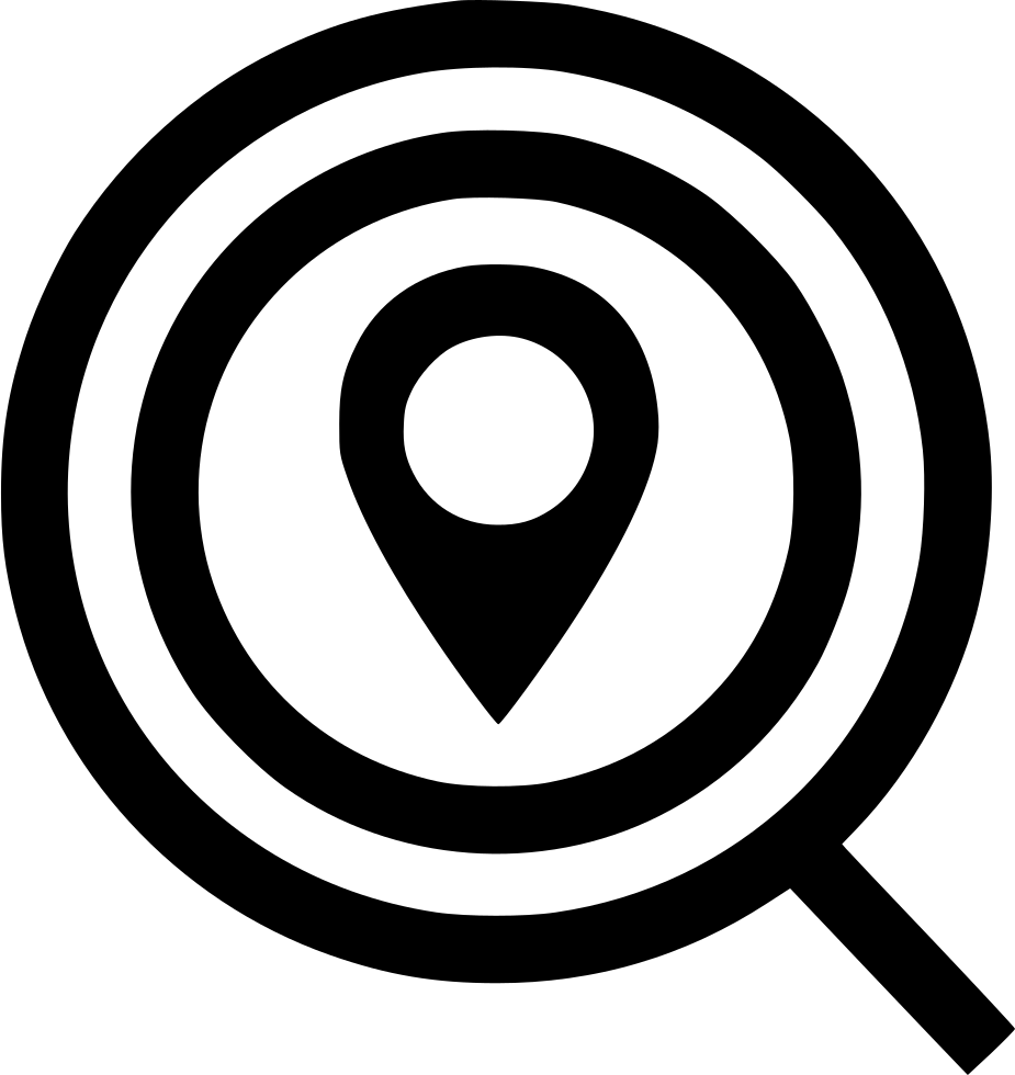 Search Find Gps Location Zoomin Magnifying Glass