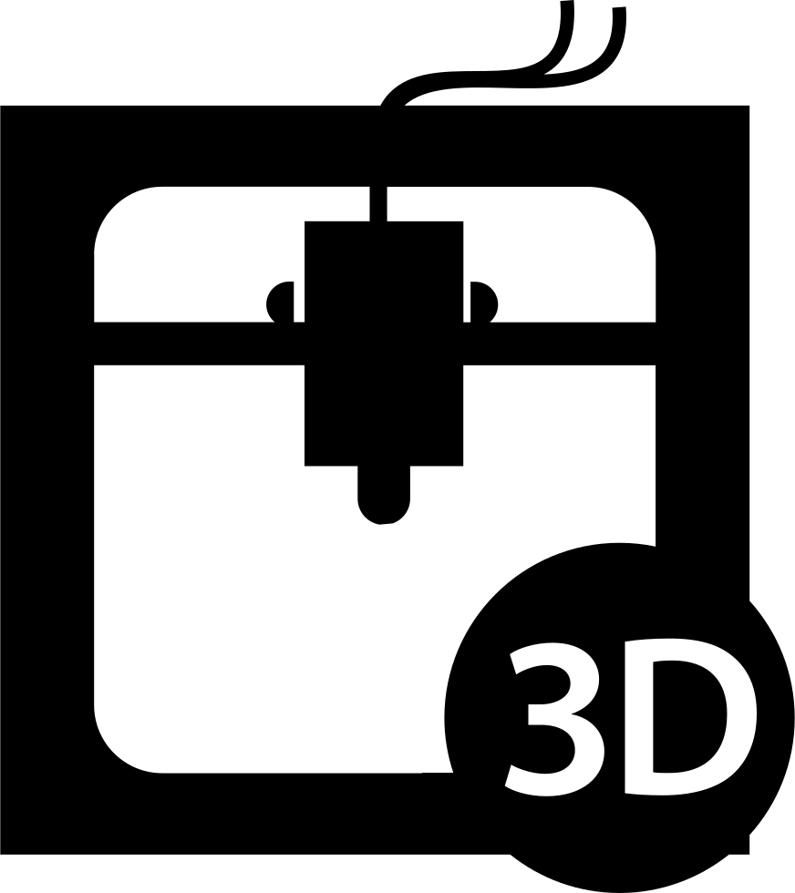 3d Printer Interface Symbol Of The Tool